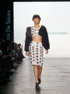 Austin S Linda Asaf Reviews Art Institute Nyfw Show Fashionably Austin